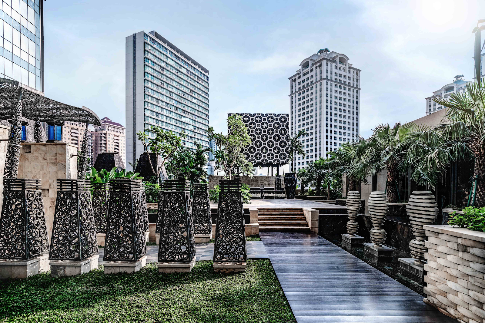 Apartemen Dekat Istana Sahid Daerah Tanah Abang: Anandamaya Residence