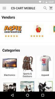 CS-Cart Multi-Vendor Mobile App