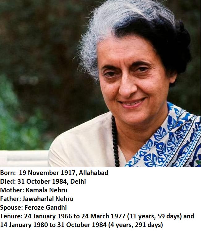 इंदिरा गांधी छवि