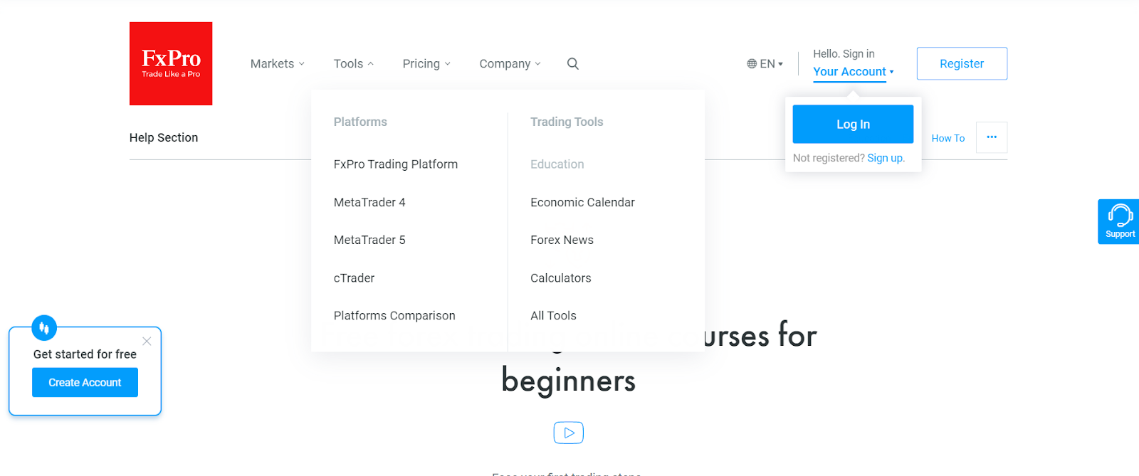 Types of platforms offered demo trading accounts