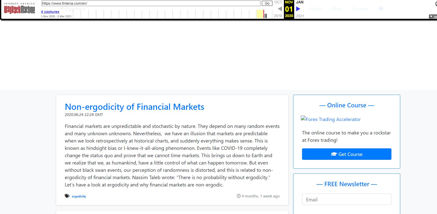 Отзывы о Finteria и обзор коммерческих предложений — Обман?