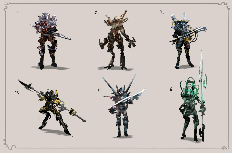 Character Design Thumbnailing