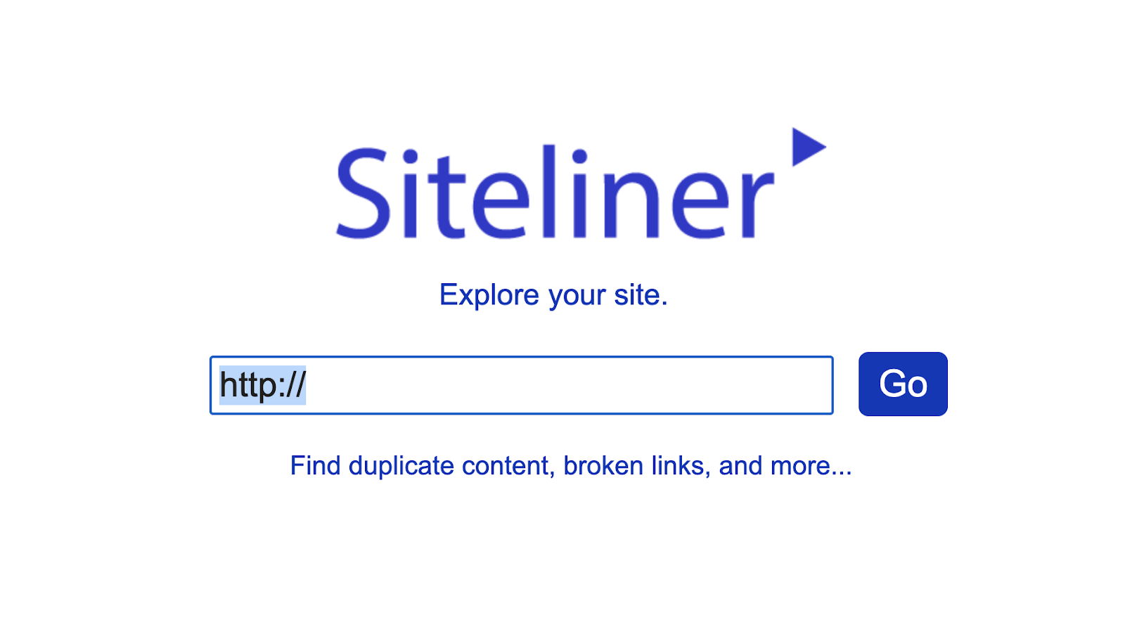 Siteliner checker for checking duplicate content, broken links, and more