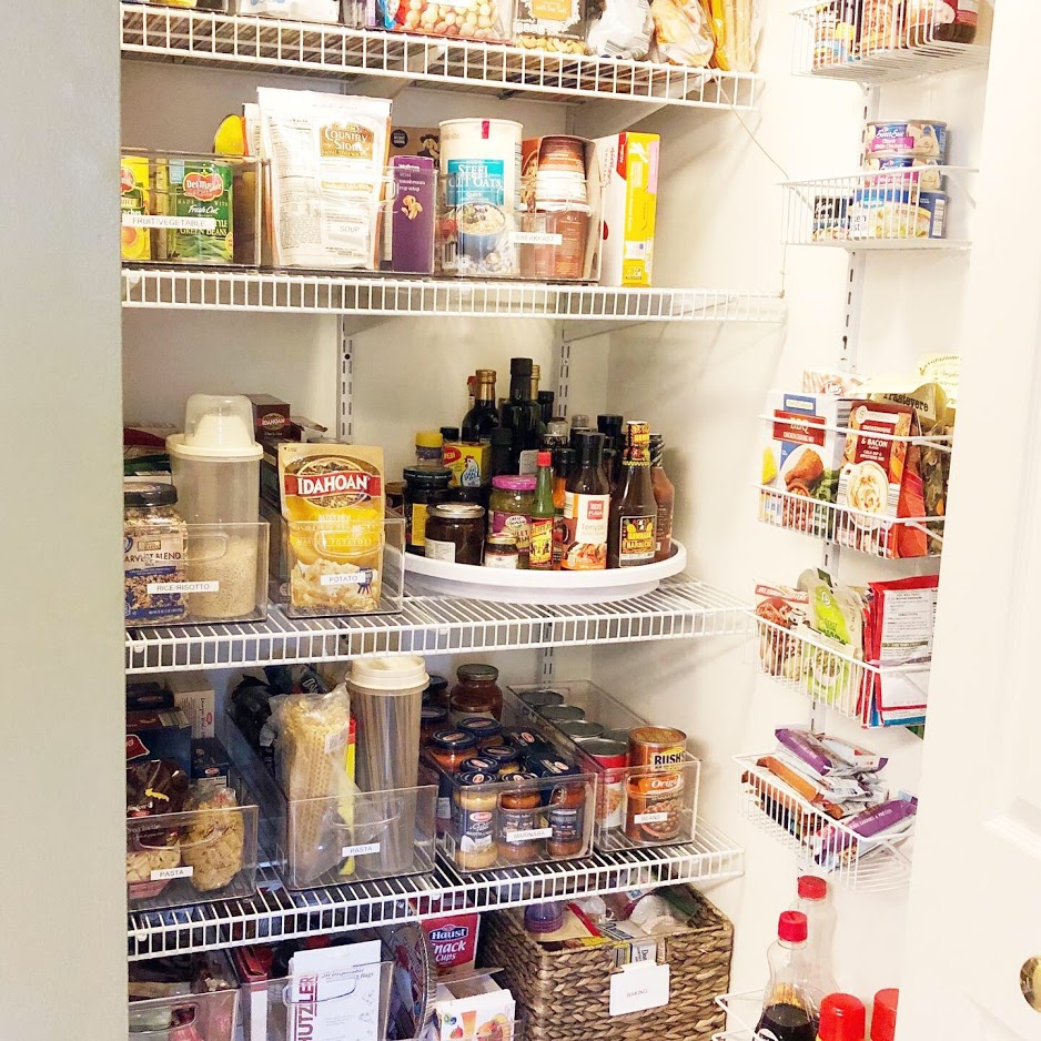 organized pantry Inverness north Chicago home organizer decluttering beautiful food Abrams Home solutions