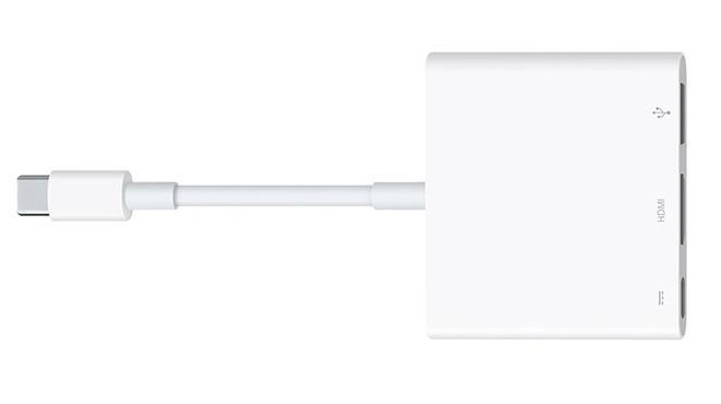 Image result for Apple's USB-C AV Dongle gets updated for 4K HDR video