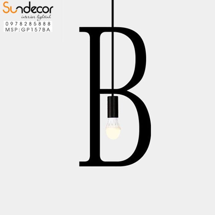 Đèn Thả Chữ B GP157BA