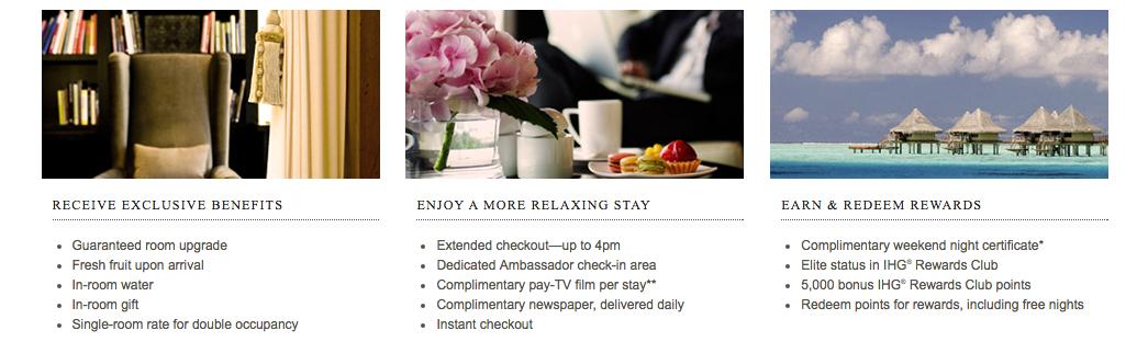 IHG Luxury - Ambassador and Royal Ambassador - TRVLVIP