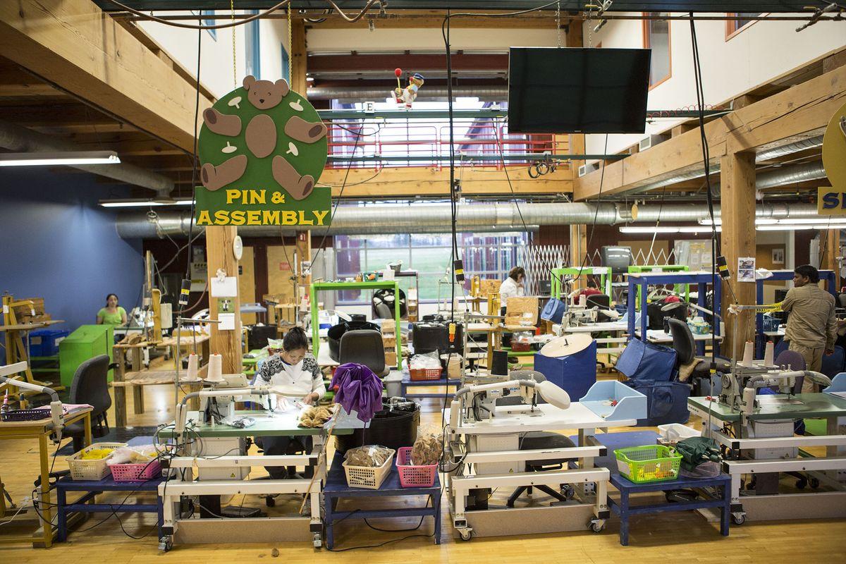 Atelier de fabrication de peluche