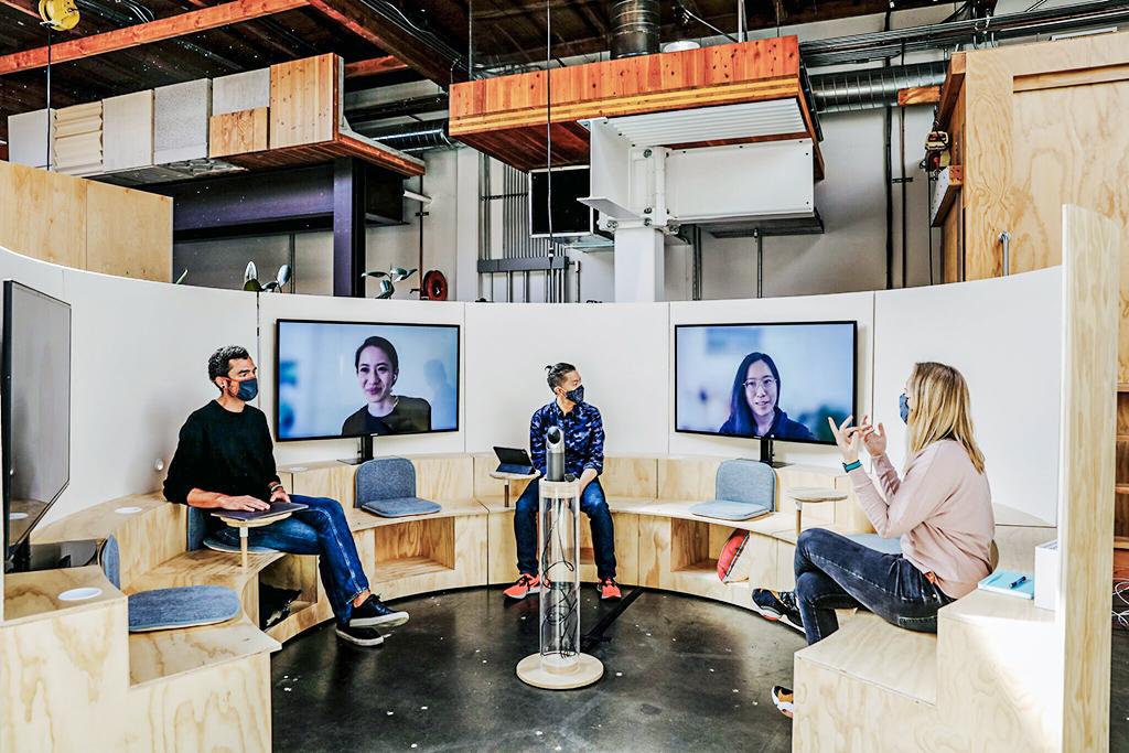 Novas fotos do novo escritório do Google