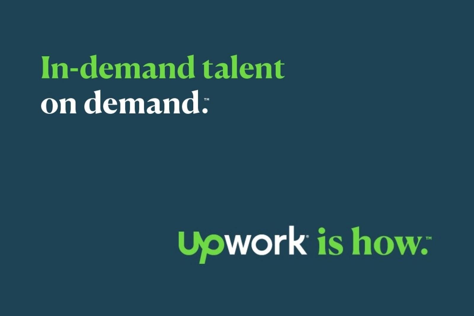 Advantages of Upwork