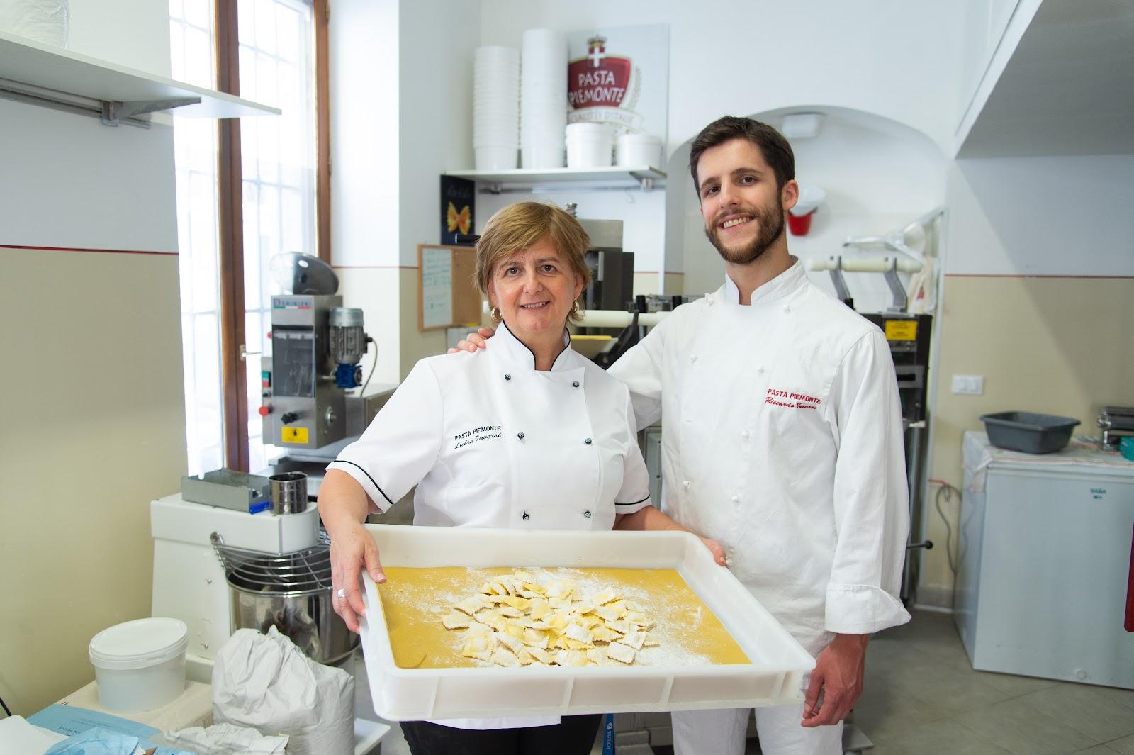 Luisa et Riccardo Inversi
