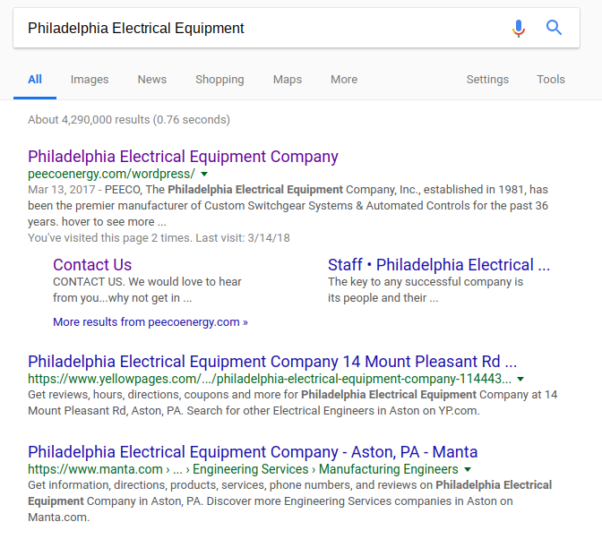 SEO for wholesale electric