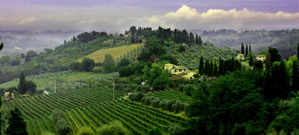 San Gimigiano Tuscany Italy