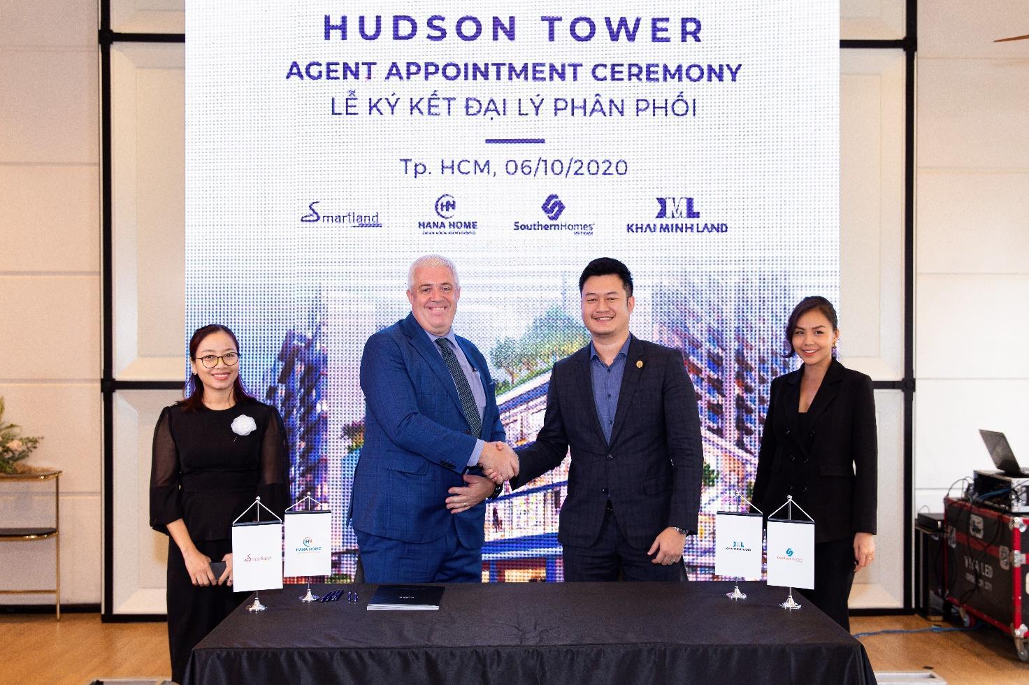 City Garden Thủ Thiêm ký kết hợp tác với 4 nhà phân phối lớn cho Hudson Tower thuộc dự án The River  - Ảnh 1