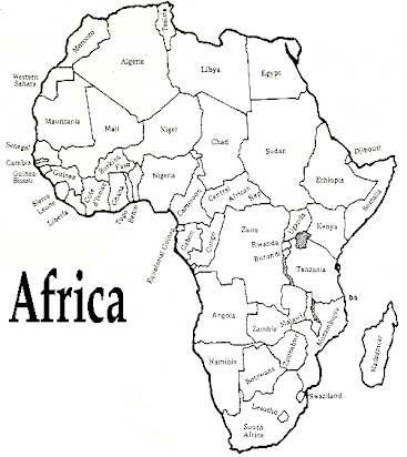 Africa map to label.docx