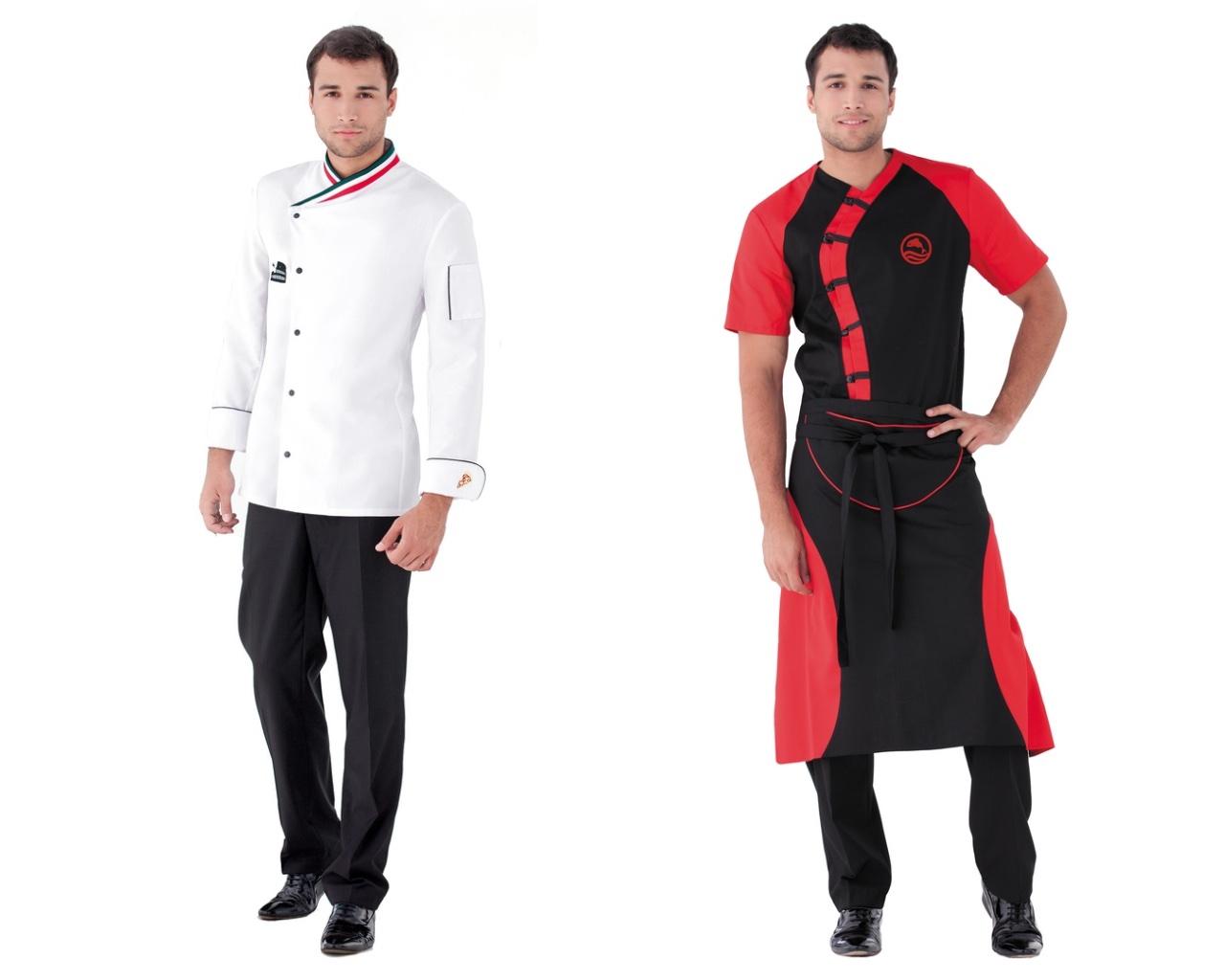 Модели униформы для повара