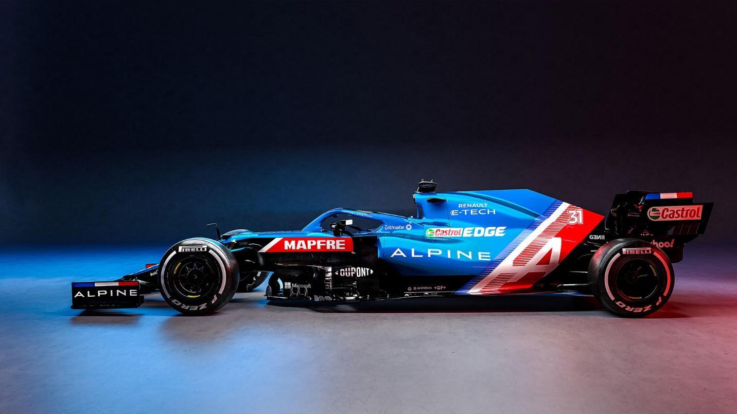 Alpine F1 for 2021   Alpine   SuperCars.net