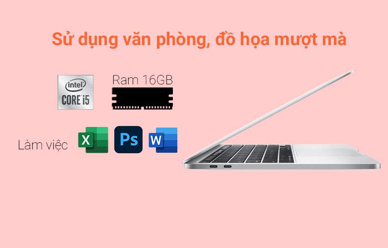 """Laptop MacBook Pro 2020 13.3"""" MWP82SA/A   Sử dụng văn phòng, đồ họa mượt mà"""