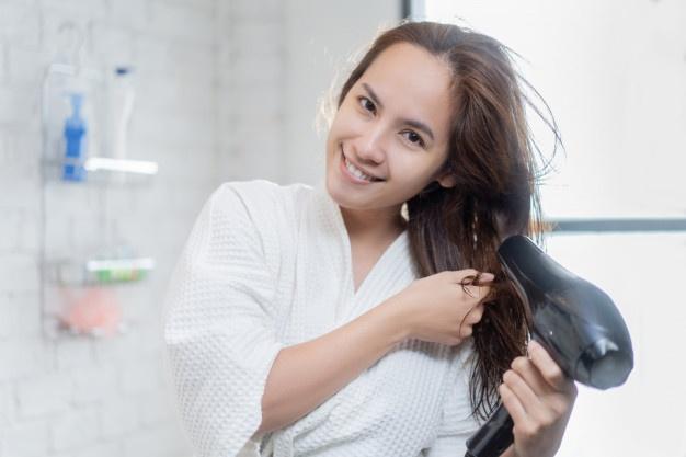 Blowout hair