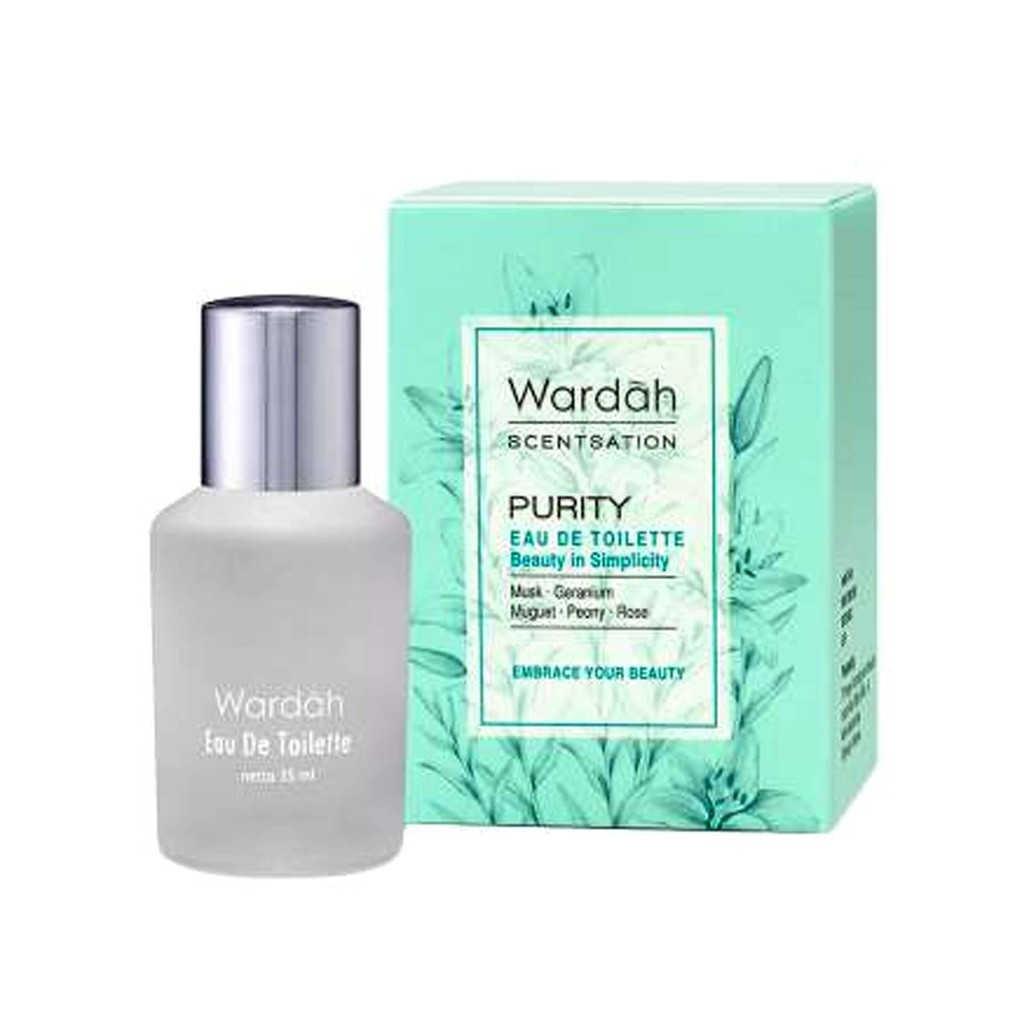 parfum Wardah Scentsation Purity Eau De Toilette
