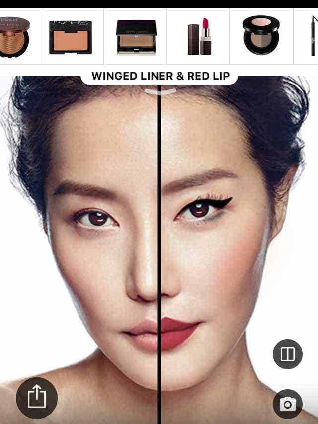 AR Shopping for beauty
