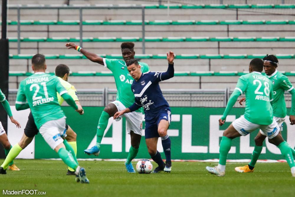 Saint-Etienne đang có được chuỗi trận ấn tượng