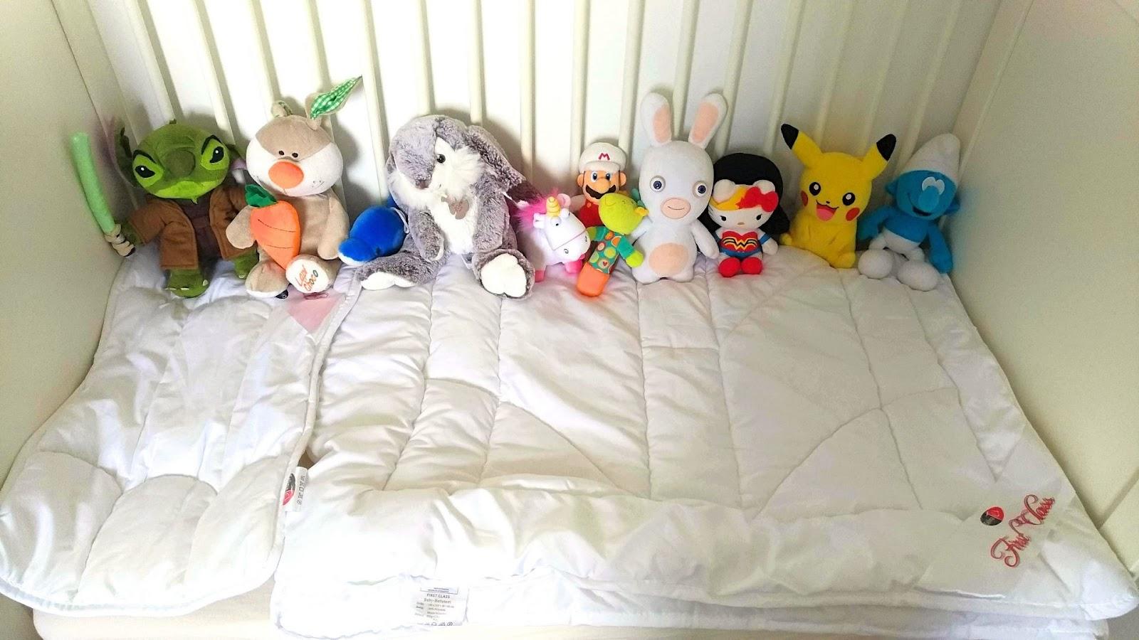 Ma Fille A Teste Pour Vous - Une couette pour lit de bébé