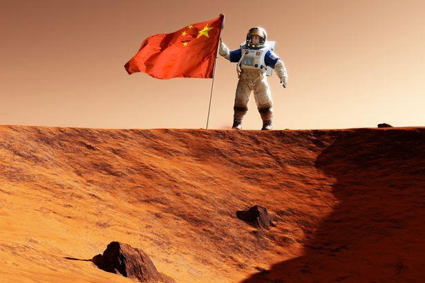 Trung Quốc cho thấy tham vọng sao Hỏa những năm gần đây.
