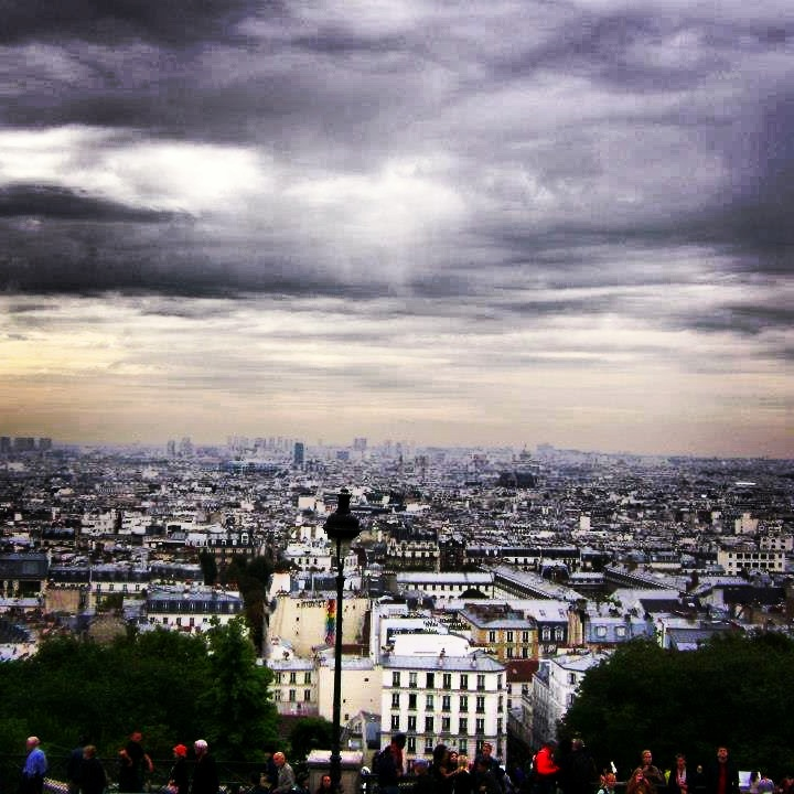 Montmartre, Paris: Sprawling City Views - Urban Landscapes Yearning to be Explored