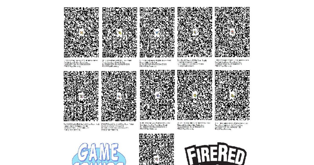 Pokemon 999 rare candy qr code