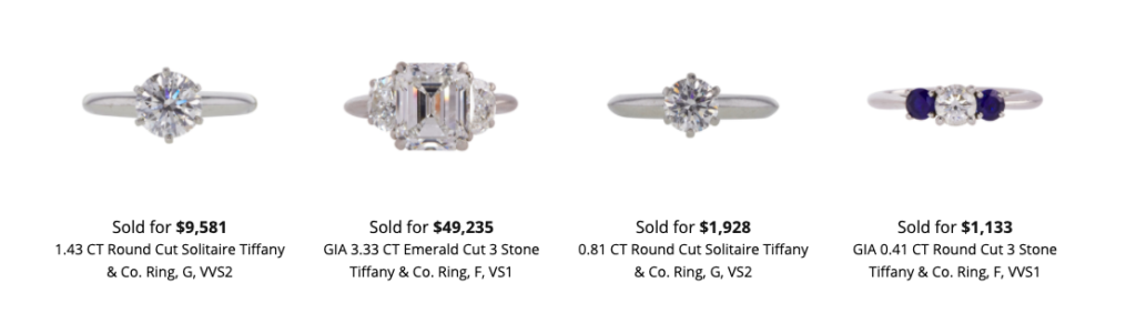 How much is a Tiffany ring worth?