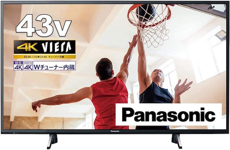 液晶 テレビ VIERA TH-43GX755