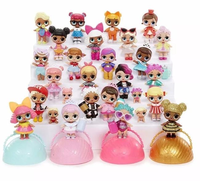 Todas as bonecas LOL da série 1