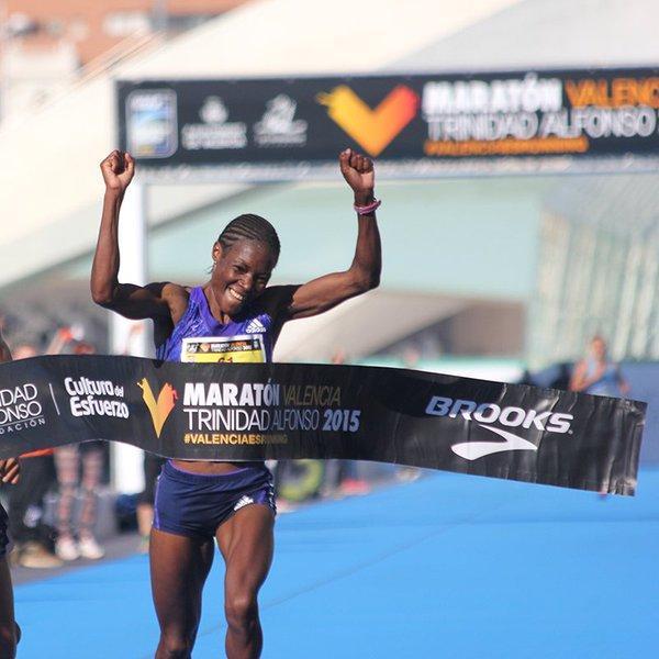 Resultado de imagen de BEATA NAIGAMBO maraton valencia
