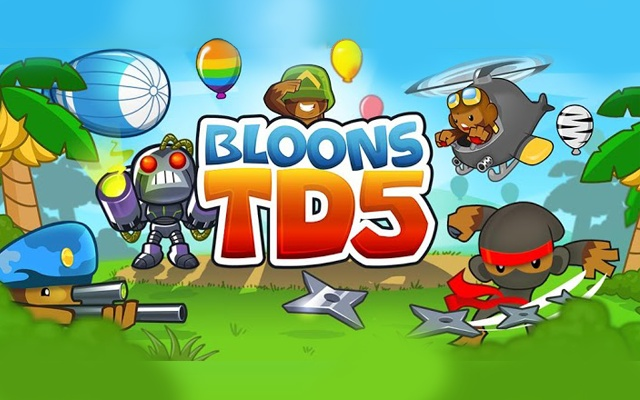 Bloons Tower Defense 5 (BTD5) at StarfallZone