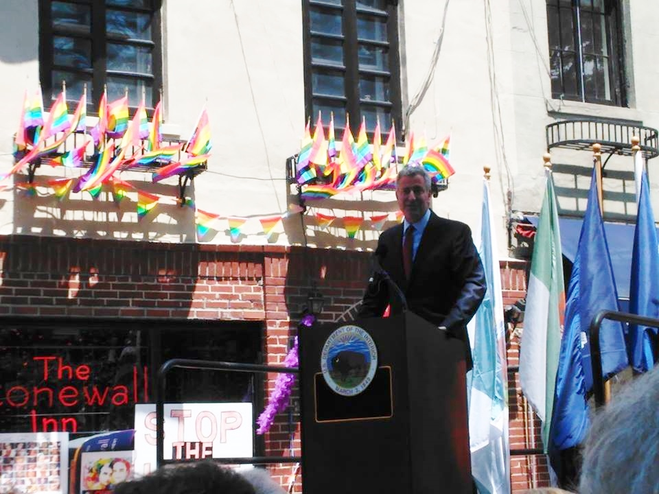 ms stonewal 03 New York City Mayor Bill de Blasio.jpg