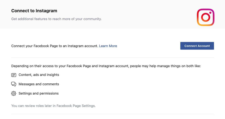 Instagram login page.