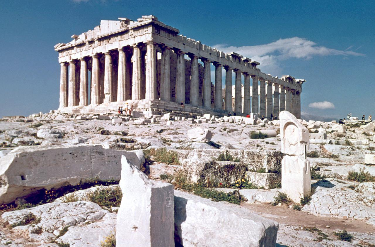 The parthenon the epitome of the doric order - God Is Power