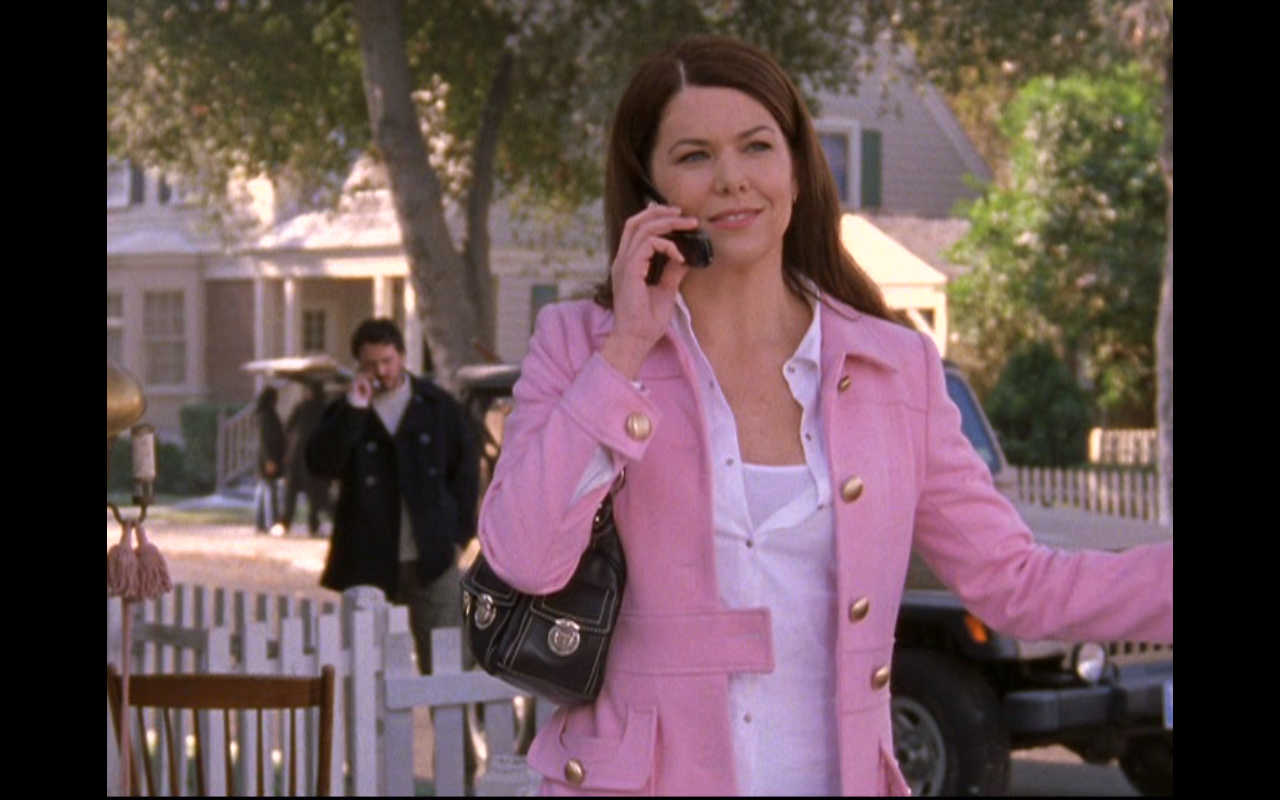 Image result for lorelai gilmore pink jacket