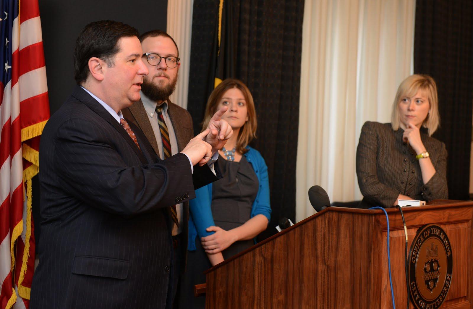 Mayor Peduto, Pittsburg open data