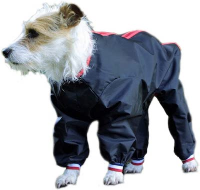 dog rain suit with legs