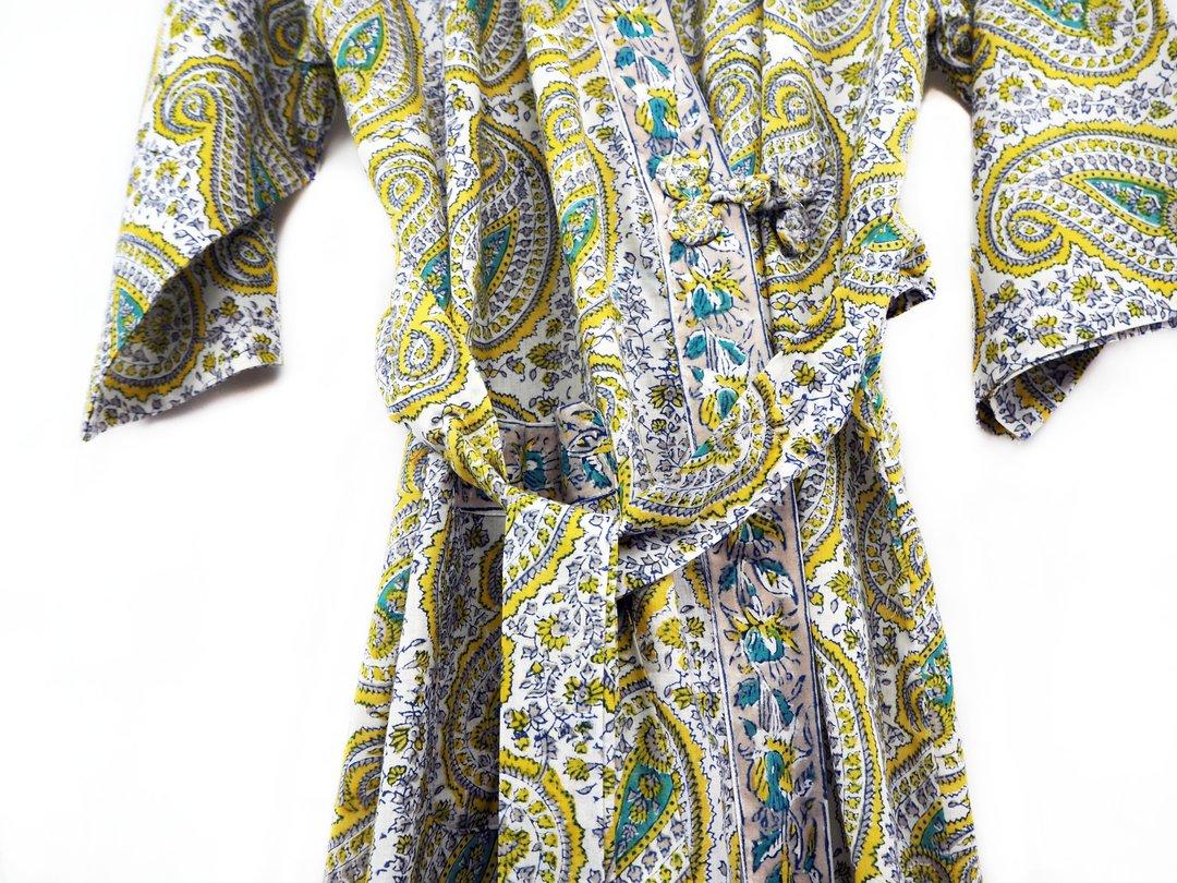 fairtrade cotton bathrobe