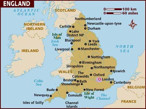 Image result for england map