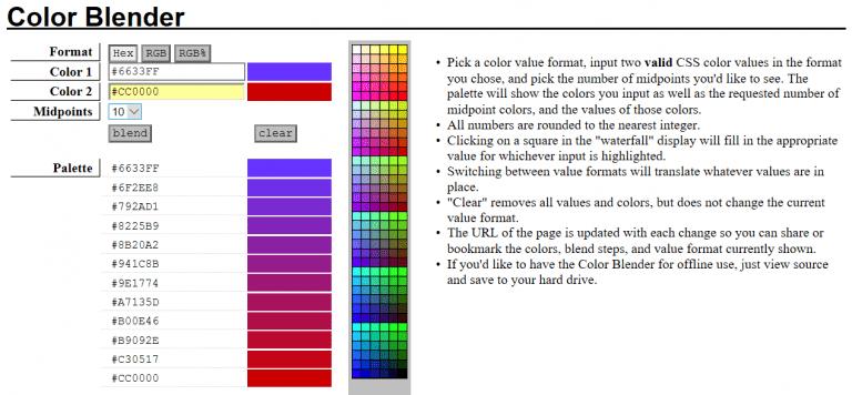 Color Blender - Http5000