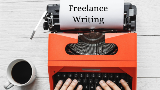 freelance writing as a work from home job