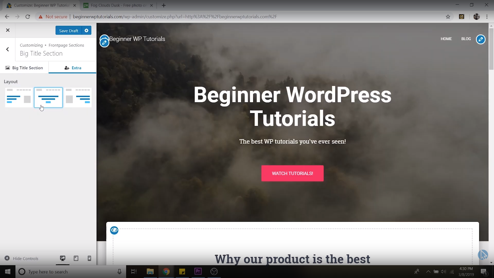 font alignment wordpress tutorial for beginners
