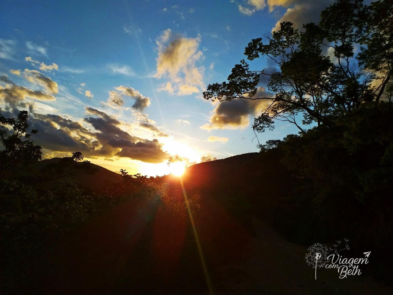 Pôr do Sol na Estrada