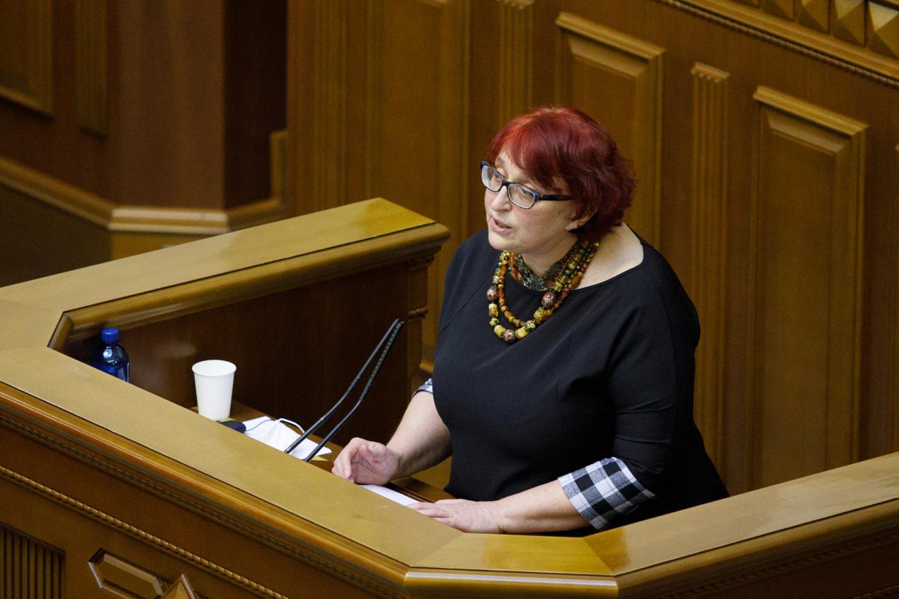 Галина Третьякова: Ми маємо платити пенсіонерам з окупованого Донбасу