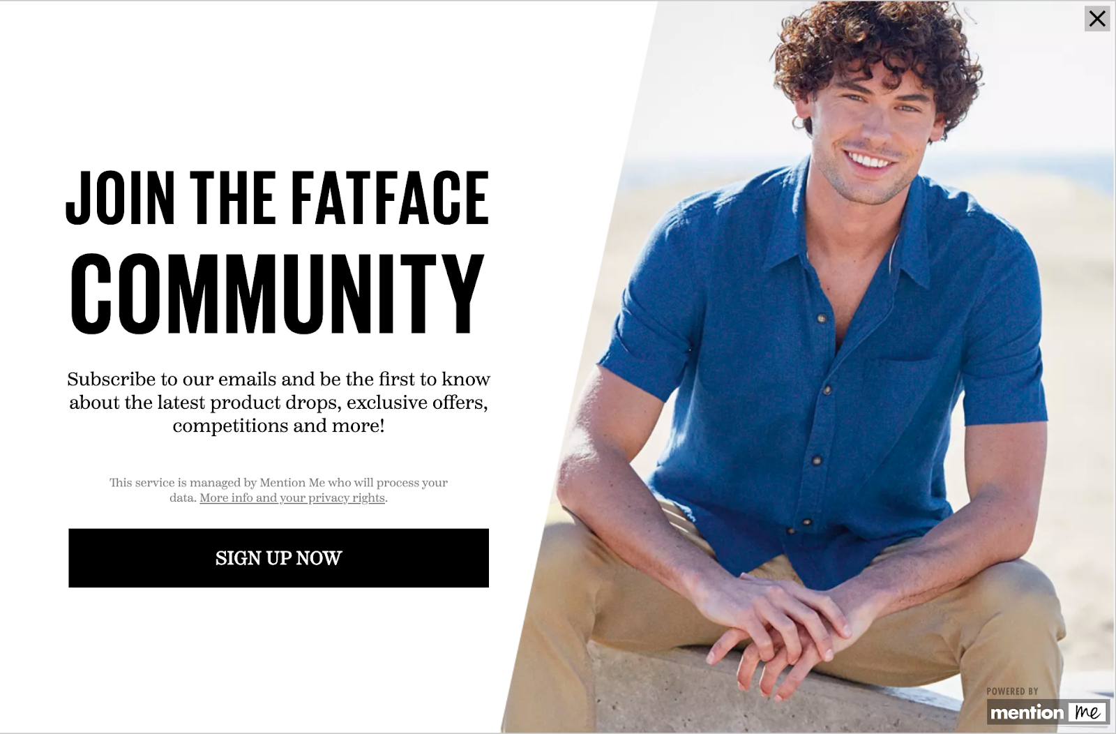 FatFace retention community message