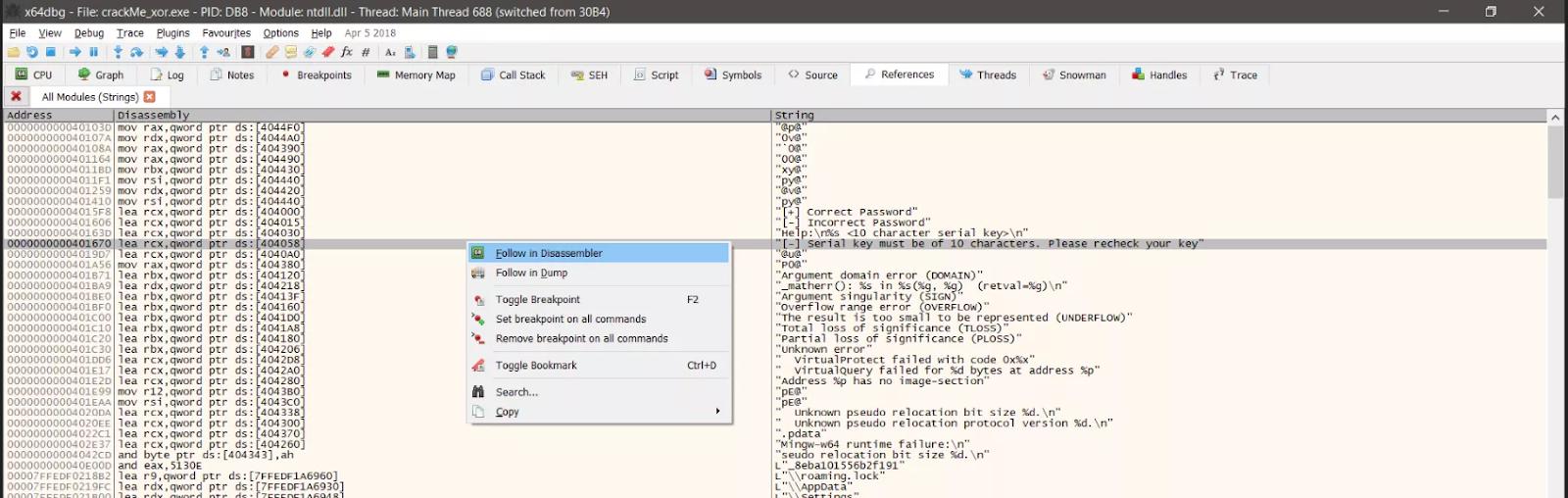 Kỹ thuật dịch ngược cho người mới bắt đầu - Mã hóa  XOR - Windows x64  - Ảnh 4.
